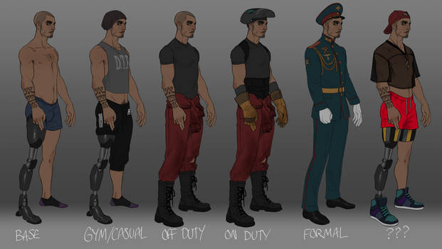 Alexei outfit refs