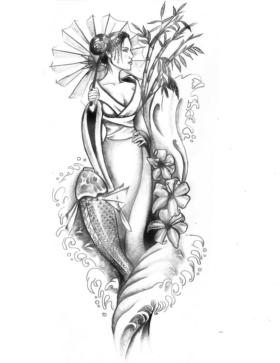 Geisha 2.0 by artfullycreative
