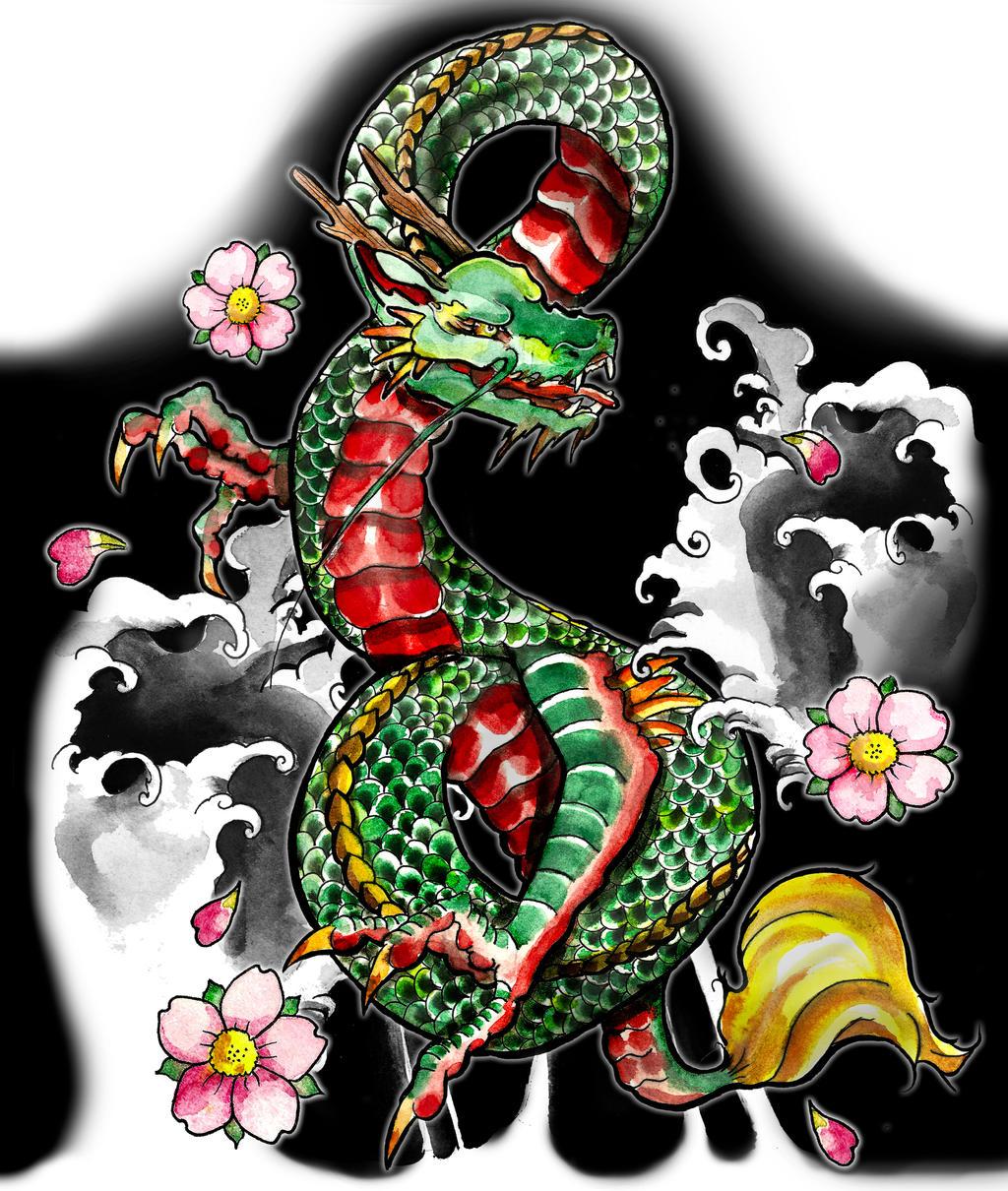 Dragon Sleeve 2 by artfullycreative