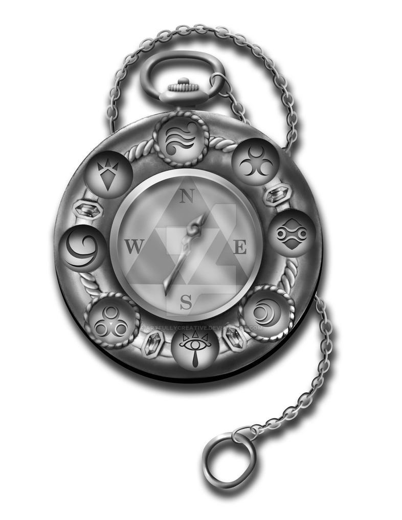 Zelda Compass Consept by artfullycreative