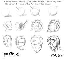 Head exercise part1 by giulliare