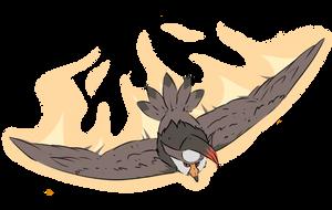 Staraptor Used Brave Bird