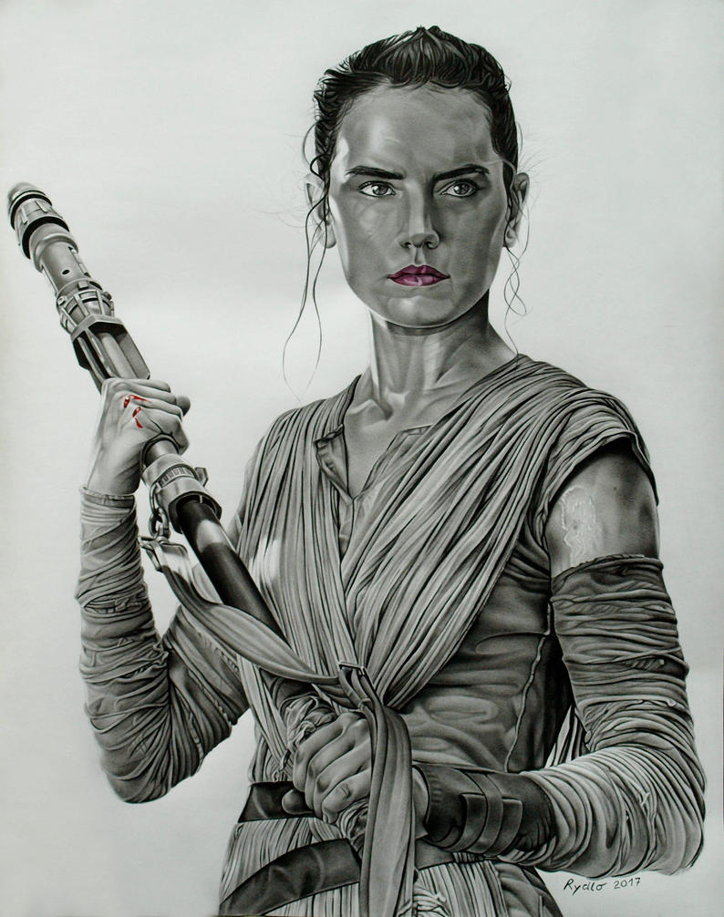 Rey - the second time by KamilRydlo