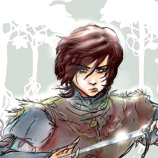 Arya feel my love wallpaper