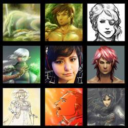 Art Vs Artist - ladywinde