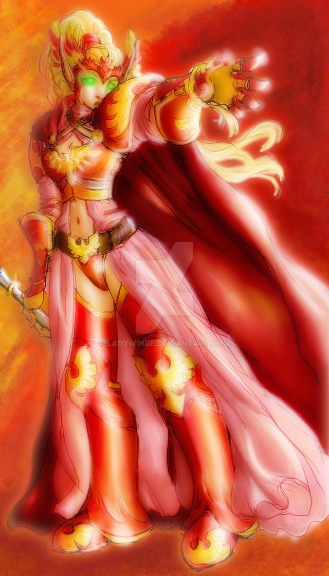 Unfaltering Bloodknight by ladywinde on DeviantArt