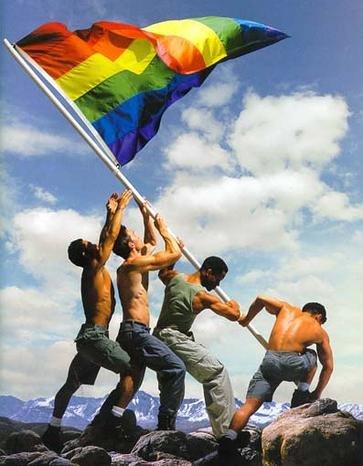 Gay pride flag by preppyboy94
