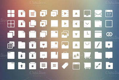 Web Icons Set by SkipSoft