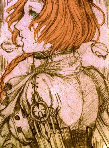 goodbye, scribble by Lufiana