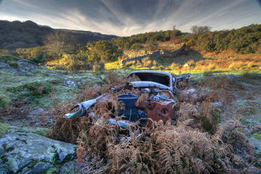 North Wales Car Wreck by oboh