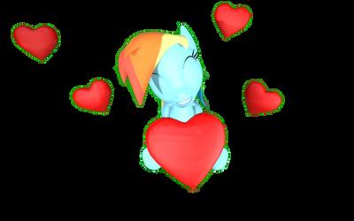 Rainbow Dash Valentine's Day