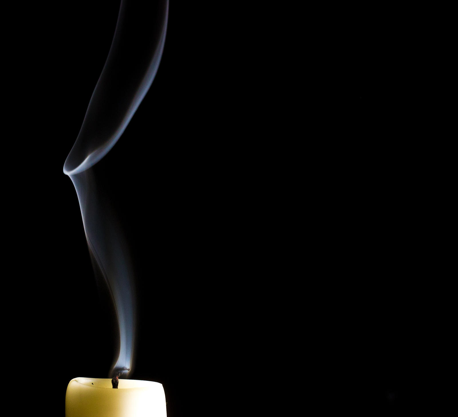 Smoke trails candle! by GeorgeAmies