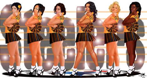Steeler Girls Screen Saver Pre Season 2013 by giolove1