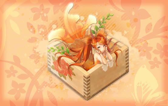 Mermaid Box Background