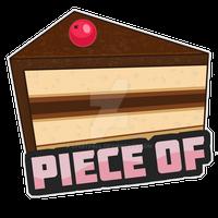 Piece of Cake Sticker
