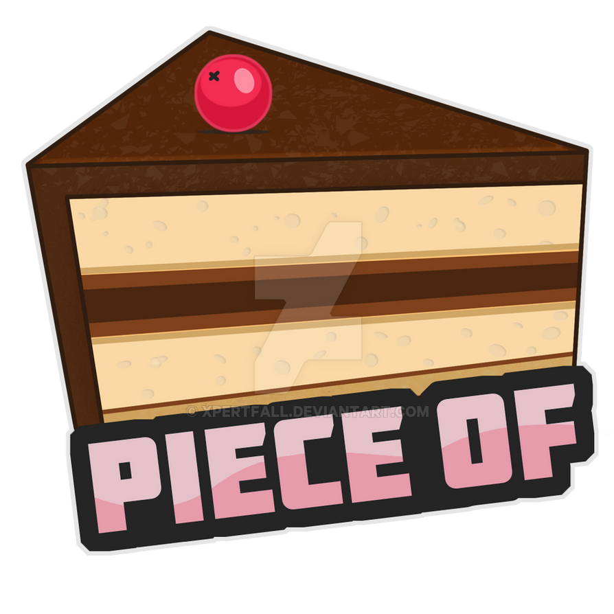 Piece of Cake Sticker by Xpertfall