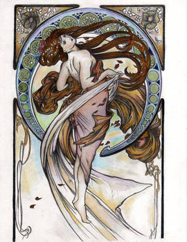 Alphonse Mucha's 'Dance'