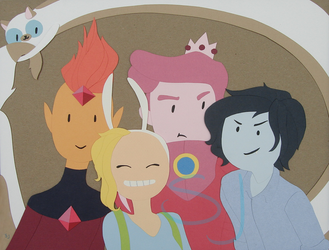 Finished Fionna and Friends by Number-36
