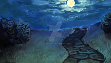 Moonlit Walk | Background