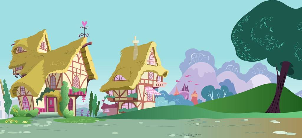 My Little Pony 39 S Ponyville Houses By Msteeq On Deviantart