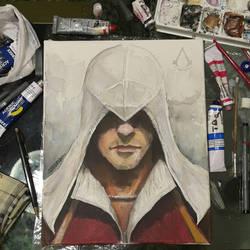 Ezio by ninsouza