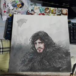 Jon Snow by ninsouza