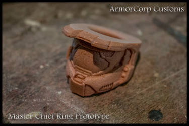 Master Chief Ring - Prototype by ManAtArmsProps