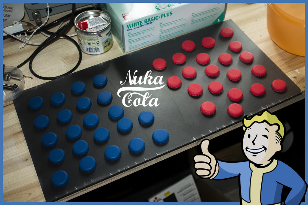 Nuka Cola Caps by ArmorCorpCustoms