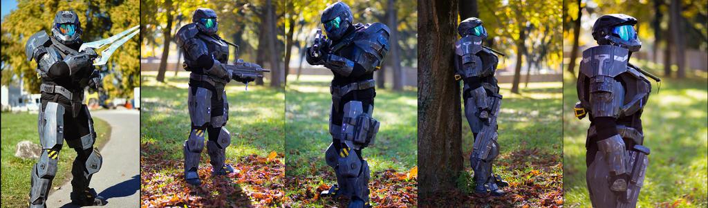 Reach Armor Complete - AkiCon 2015 by ArmorCorpCustoms