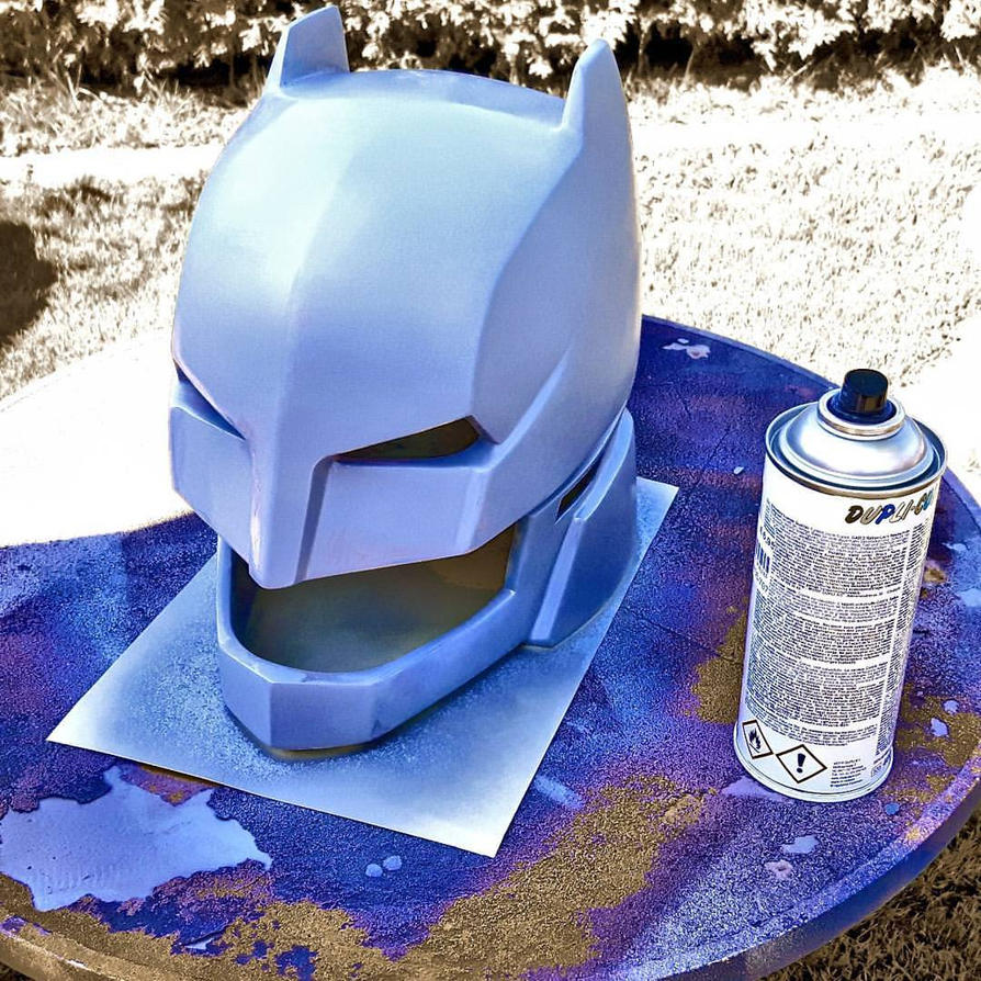 BvS Armored Helmet - Primer Stage by ArmorCorpCustoms