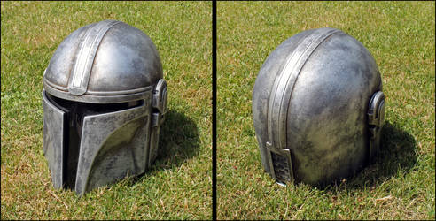 Mandalorian Helmet - Finished