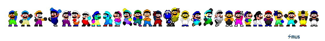 Youtube Rangers 16-Bit Group Pic[August 2th, 2013] by SMUSX16475
