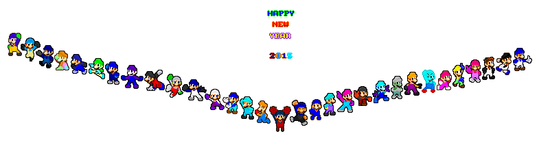 Happy New Year 2015!! by SMUSX16475