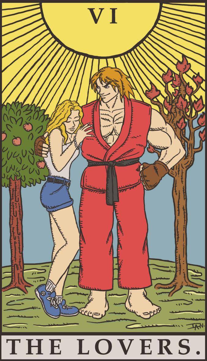 Street Fighter Tarot -...