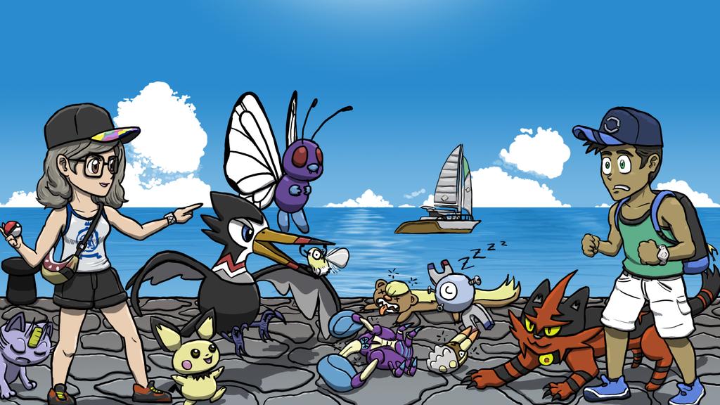 Pokemon Moon Adventure Log 04 by SayIanIanIan