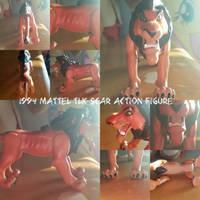 1994 Mattel TLK Scar Action Figure