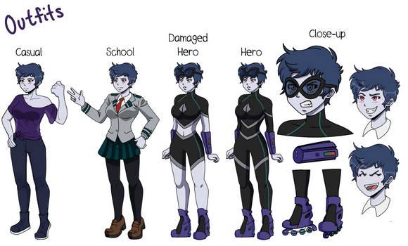 Azumi Outfits
