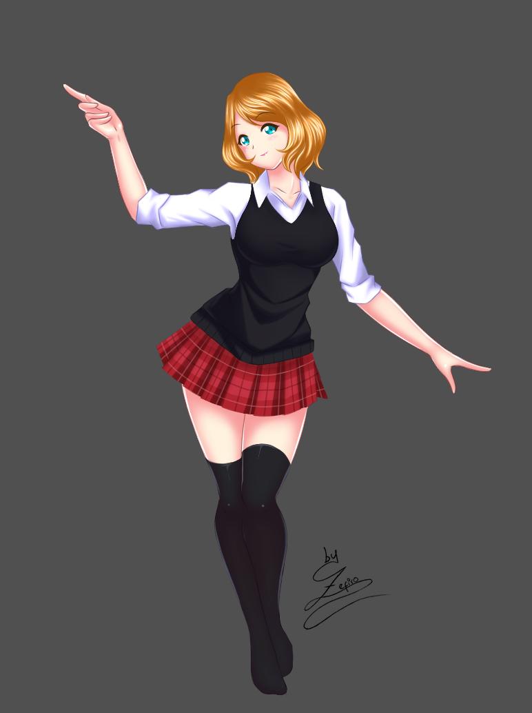 Serena Pokemon XYZ by Zephiroh
