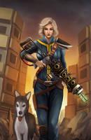 Fallout: Vault Dweller by Kamajaya-78