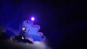 Luna on a cloud o_o