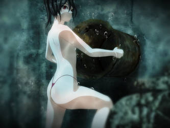 Underwater cave adventure:Chapter2 Worms 1 by UW-JOKER