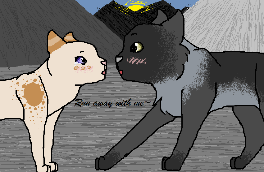Run away with me, Fawnleap~ .:TcotV:. by Smokestar11