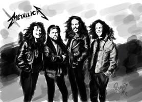 Tribute to Metallica by ricardown