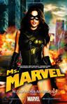 Alessandra Ambrosio -Miss Marvel Movie Poster