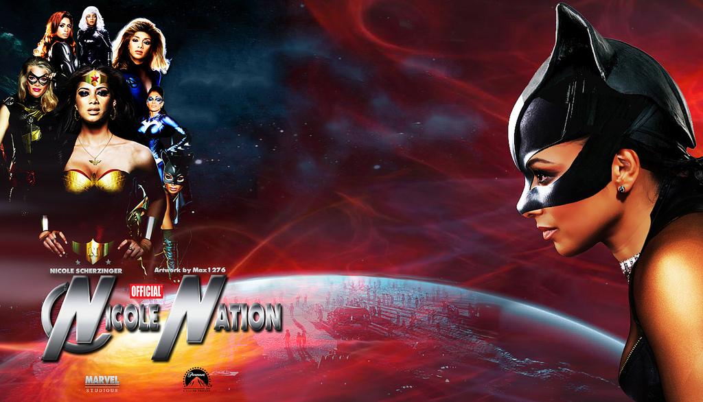 Nicole Scherzinger, superheroes movie wallpaper