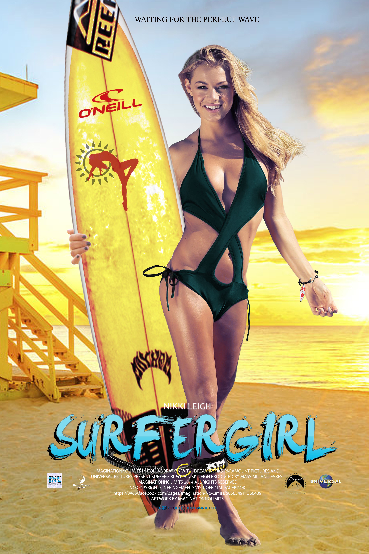SURFERGIRL -Movie Poster with Nikki Leigh