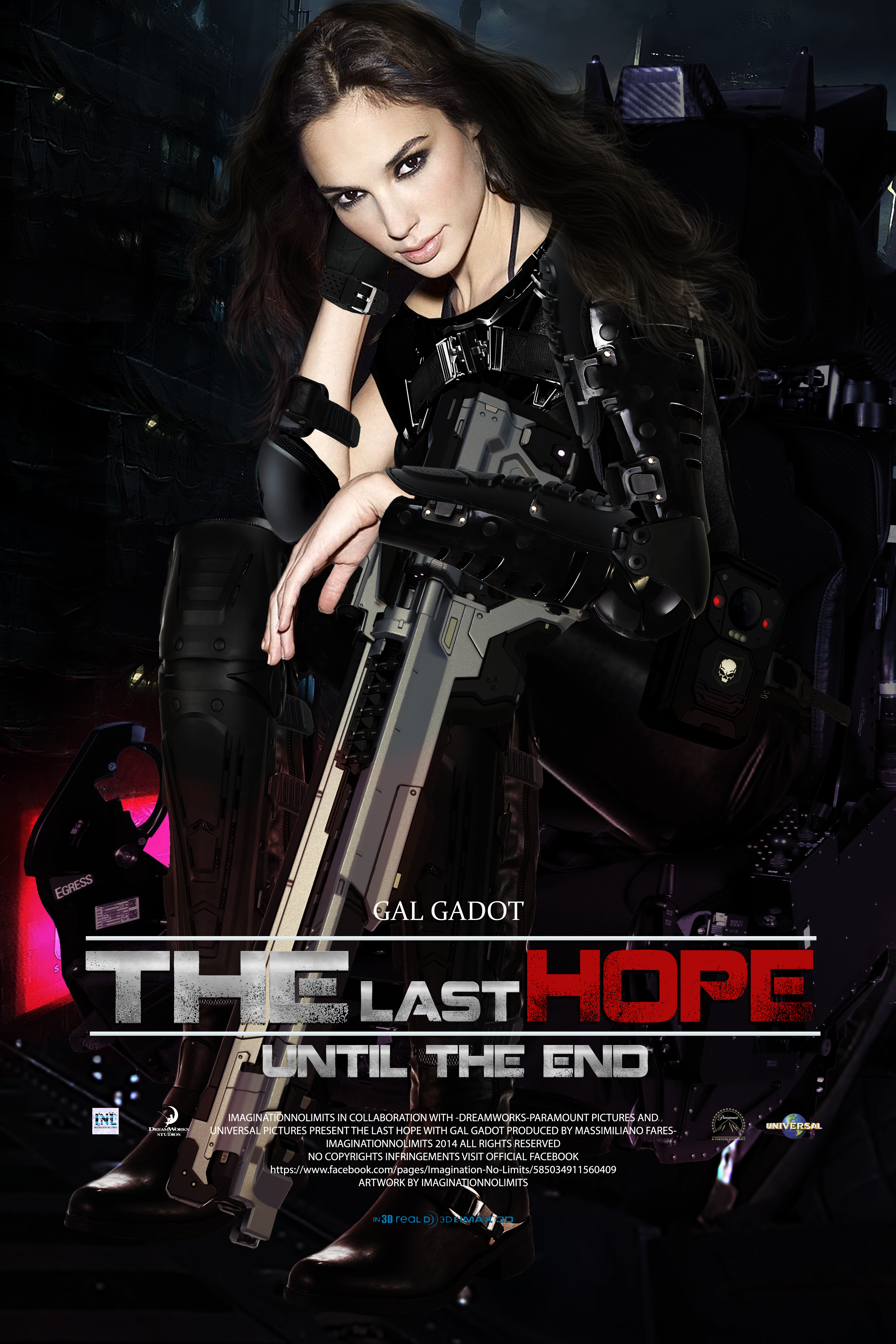 THE LAST HOPE-MOVIE POSTER WITH GAL GADOT
