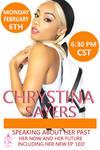 3D Promo Flyer for Chrystina Sayers Singer