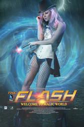 MOVIE POSTER-The Flash- with Natasha Kalashnikova