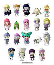 Cute Chibis Konjiki No Gash Bell by jinnoxious